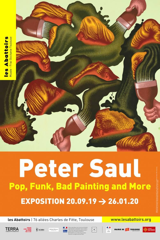 Peter Saul Affiche 1