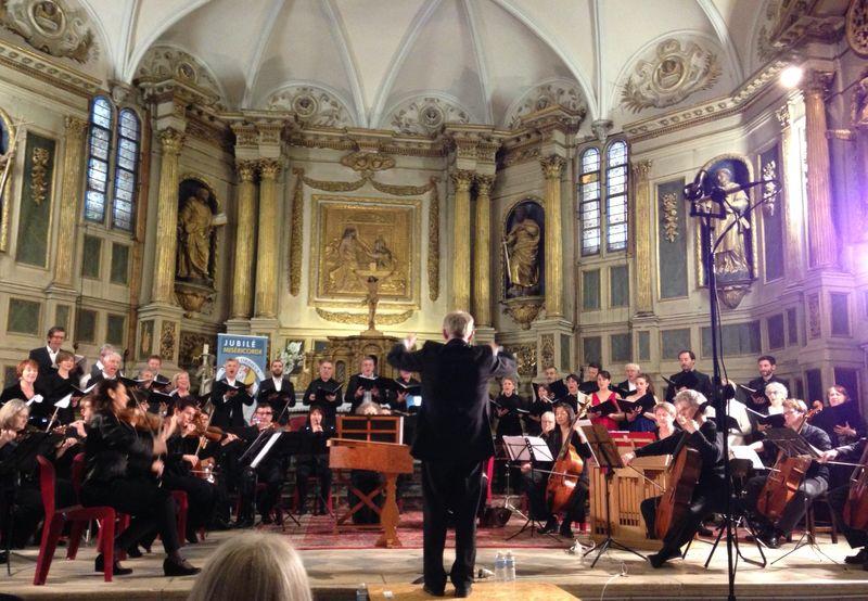 Le Groupe Vocal Renaissance de Toulouse, dirigé par Luc Michelet - Photo Classictoulouse -