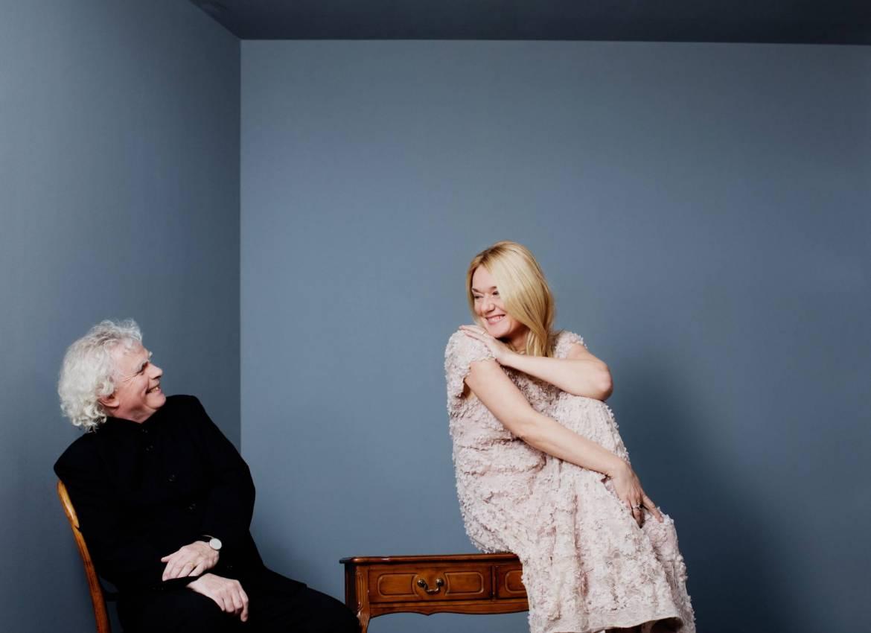 Magdalena Kozena / Simon Rattle © Julia Wesely