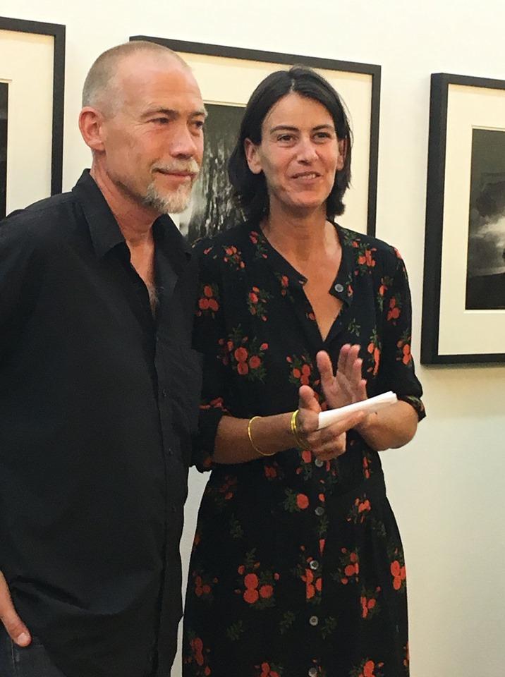 Martin Bogren et Ingrid Coumes-Marquet / Espace St Cyprien- photo © Christelle Camus
