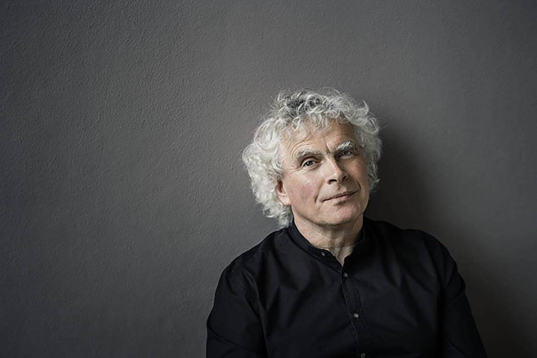 Simon Rattle © Oliver Helbig
