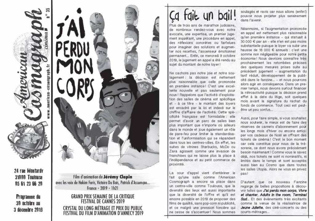 American Cosmograph Fanzine 35