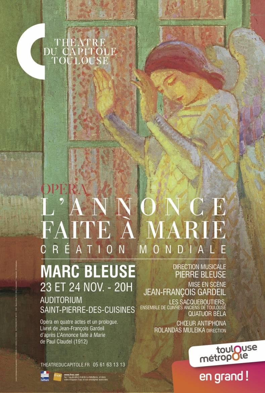 """Bildergebnis für toulouse L'ANNONCE FAITE À MARIE"""" – von Marc Bleuse"""