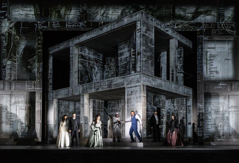 Don Giovanni, dans la mise en scène de Kasper Holten - Photo Bill Cooper -