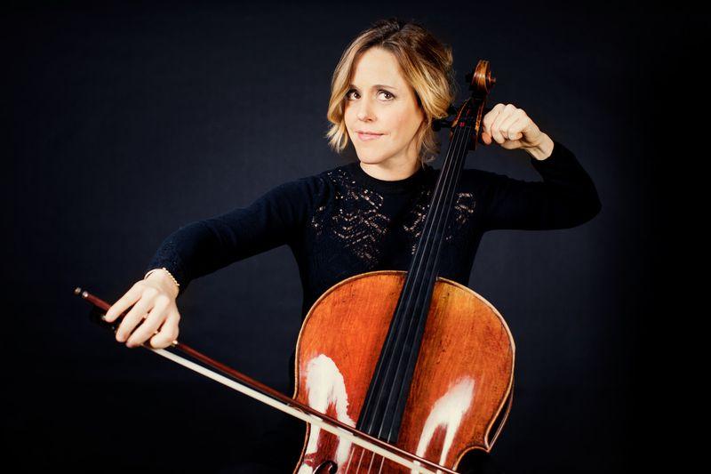La violoncelliste argentine Sol Gabetta - Photo Julia Wesely -