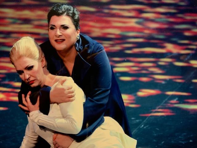 Janina Baechle dans Brangane au Théâtre du Capitole- photo Patrice Nin