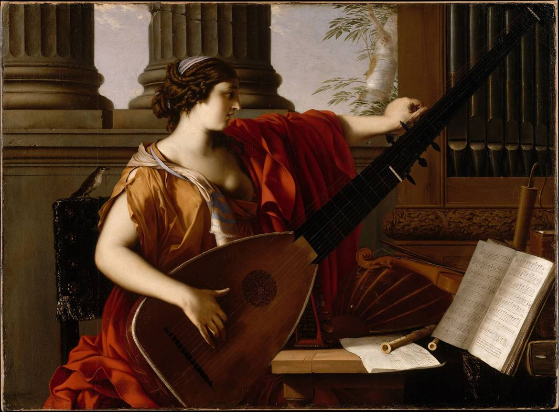 Allégorie de la musique - Laurent de la Hyre (1649)