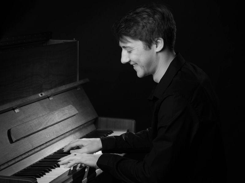 Le jeune pianiste toulousain Vincent Martinet
