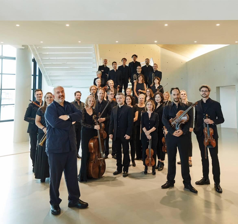 Marc Minkowski et les Musiciens du Louvre © Benjamin Chelly