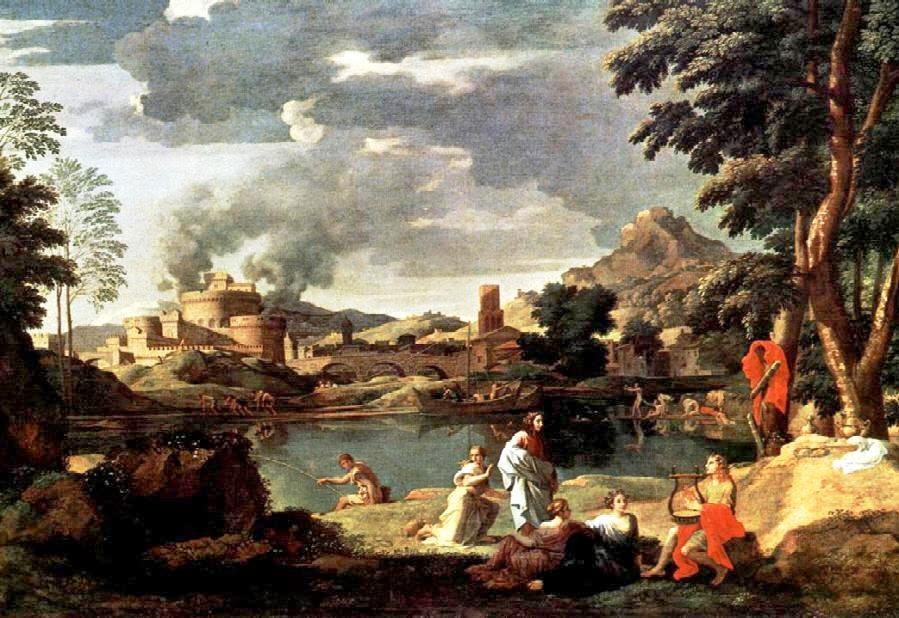 Orphée et Eurydice - Nicolas Poussin (1650?)