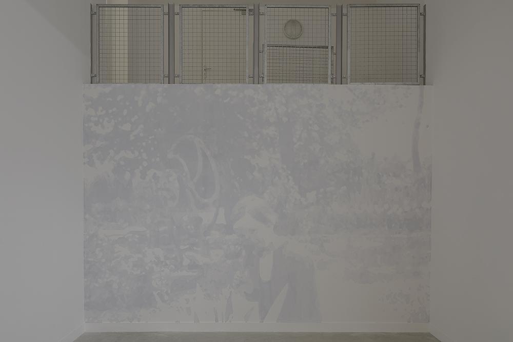 """Vue d'exposition """"Le Stock Et Le Flux"""" - Pascal Navarro - Maison Salvan (photographie : Yohann Gozard ©)"""
