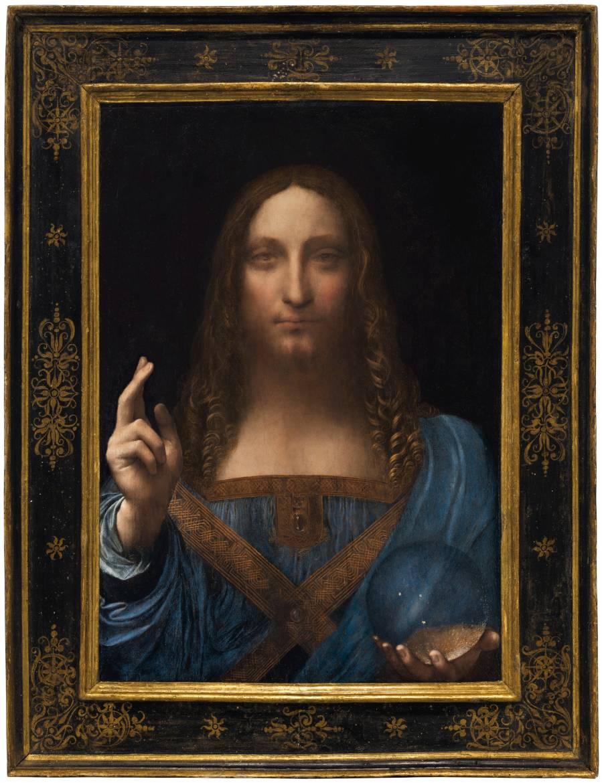 Salvator Mundi • Peinture de Léonard de Vinci