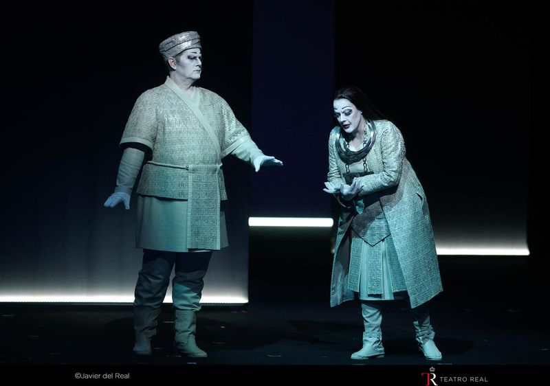 Turandot au Teatro Real - Photo Javier del Real -