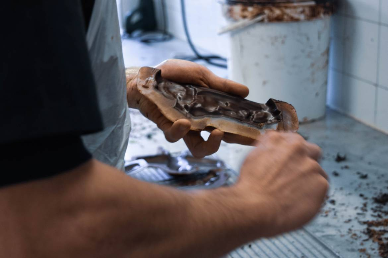 Dans L'atelier De La Chocolaterie © Maison Castan Chocolatier