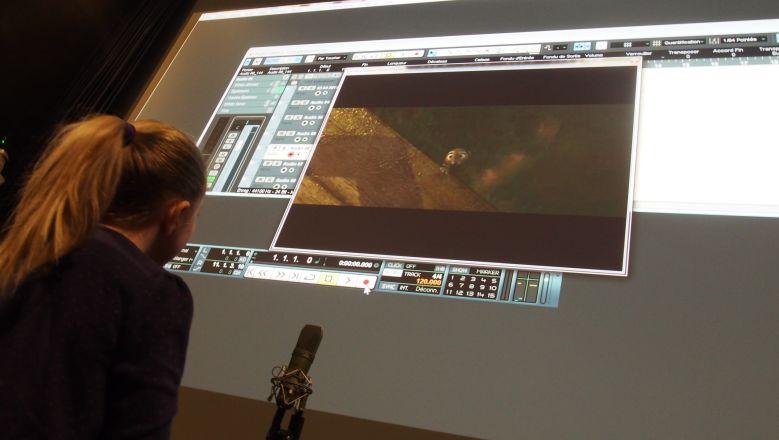 Atelier bruitage - Dossier de presse de la Cinémathèque de Toulouse