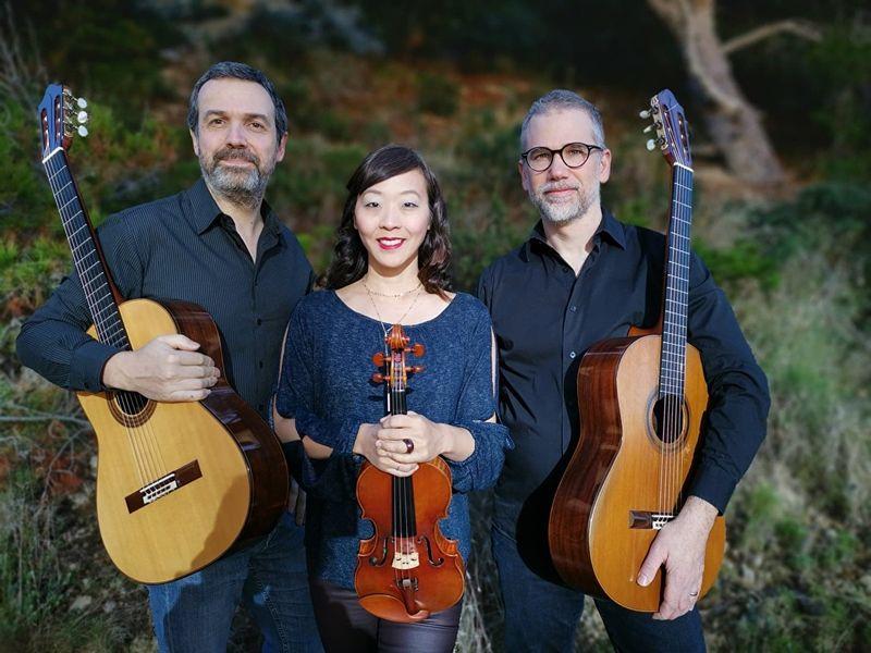 Le duo de guitares Les Frères Méduses et la violoniste Jennifer Choi