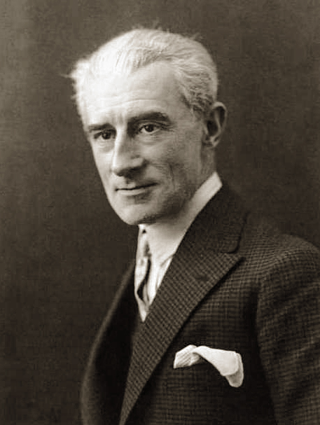 Maurice Ravel en 1925. Bibliothèque nationale de France