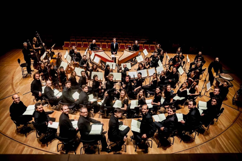 L'Orchestre et le Chœur de l'ensemble Pygmalion, dirigé par Raphaël Pichon - Photo Pierre-Gabriel Pichon -