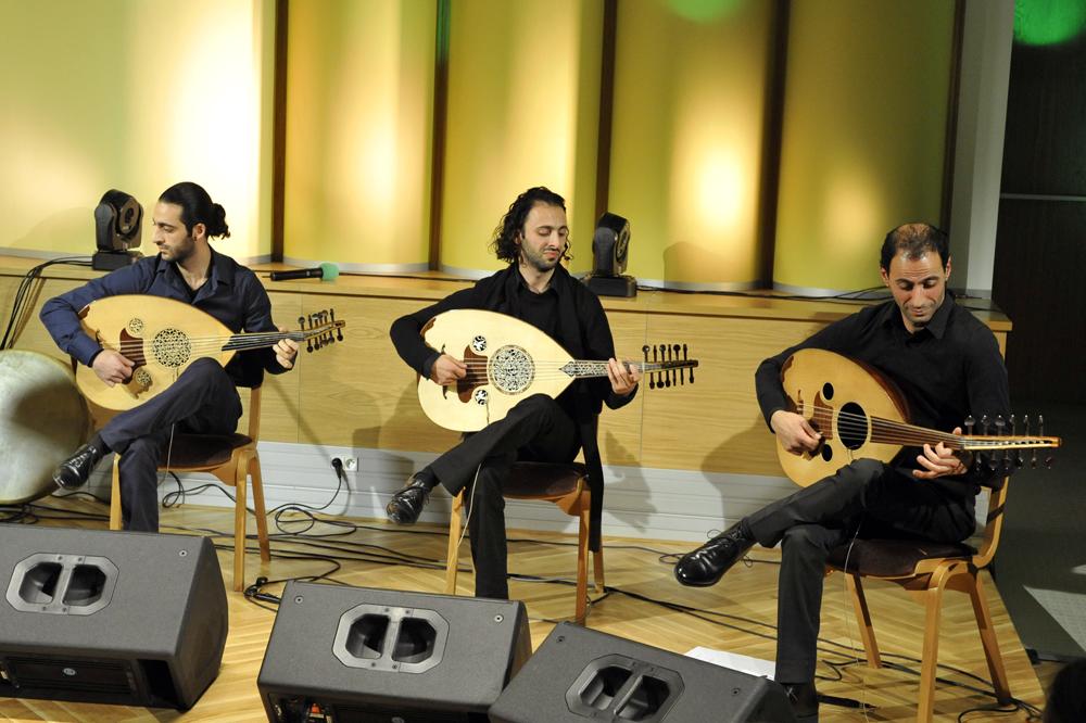 Trio Joubran © Henryk Kotowski / Wikipedia