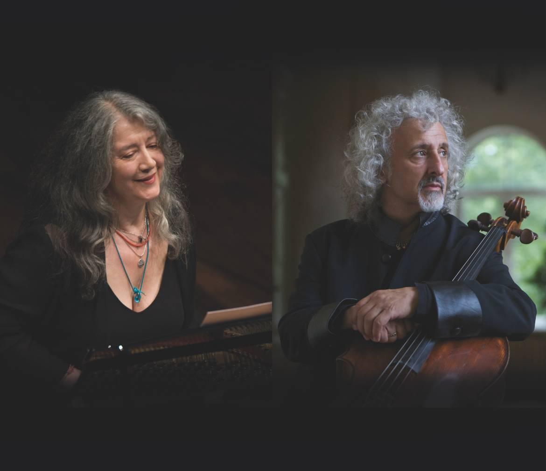 Martha Argerich et Mischa Maisky
