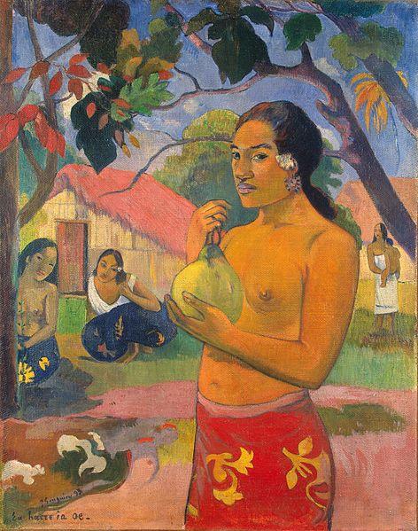 Paul Gauguin Eu Haere Ia Oe