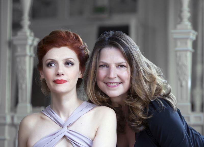 Patricia Petibon et Susan Manoff - Photo Bernard Martinez -