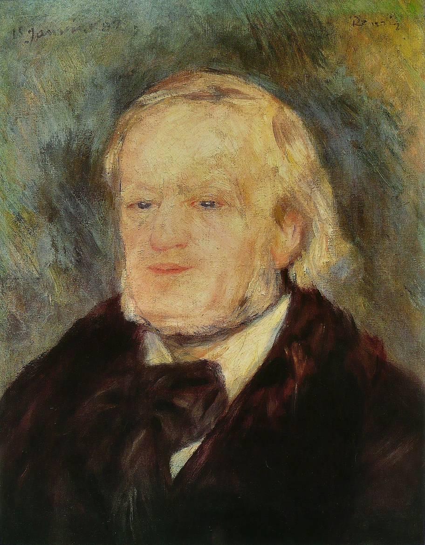 Richard Wagner par Auguste Renoir