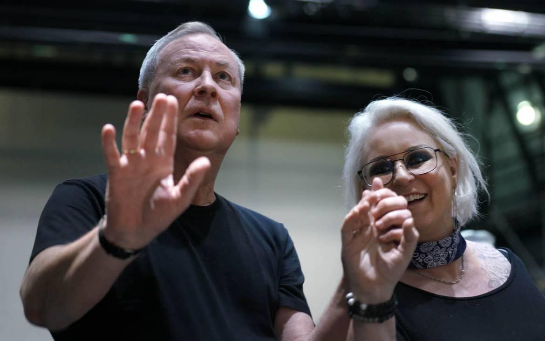 Robert Wison et Iréne Rheorin © Teatro Real
