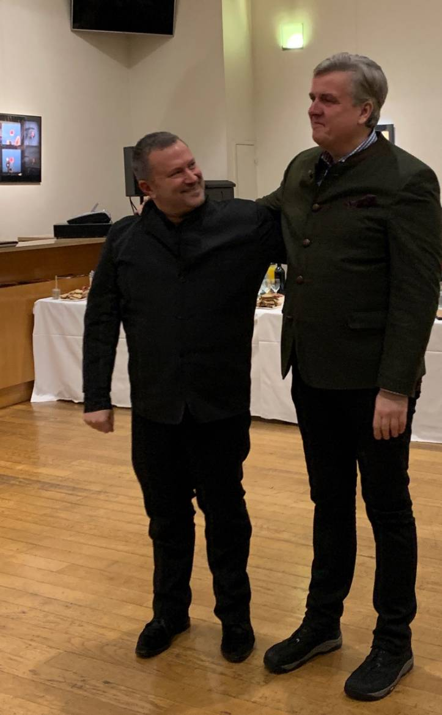 Christophe Ghristi et Frank Beermann