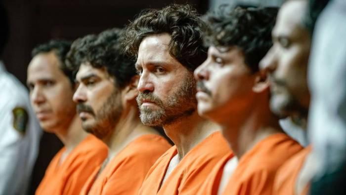 Au centre Edgar Ramirez dans le rôle de René Gonzalez, arrêté en 1998, libéré en 2011
