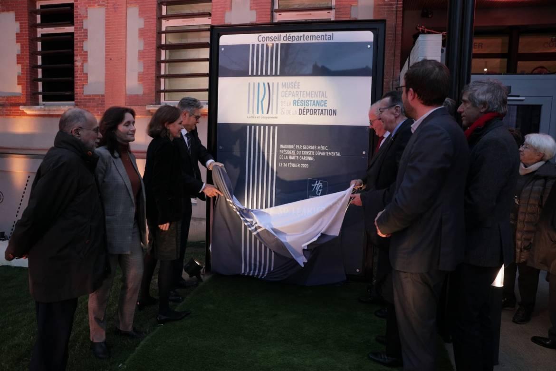 Inauguration Musée Résistance 26 février 2020