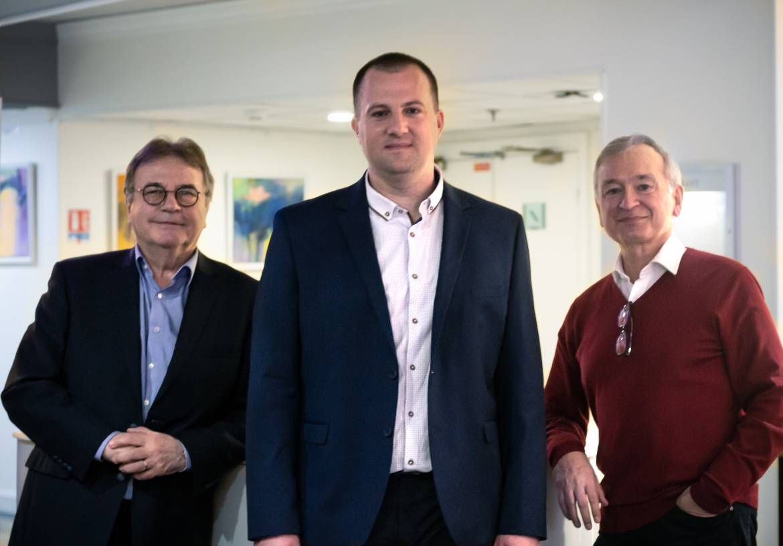 Claude Scavazza, Frédéric Lagarrigue et Robert Pénavayre