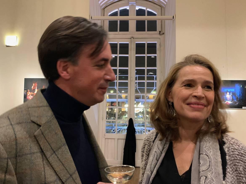 Sophie Koch et son époux