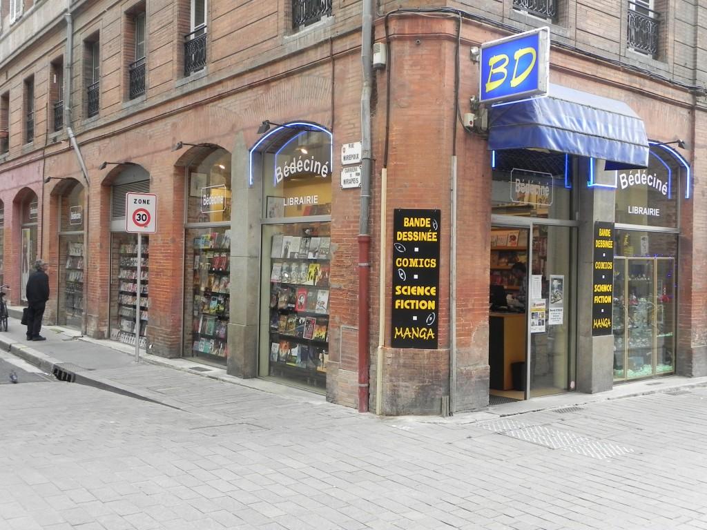 Librairie Bédéciné Comics et Mangas Toulouse