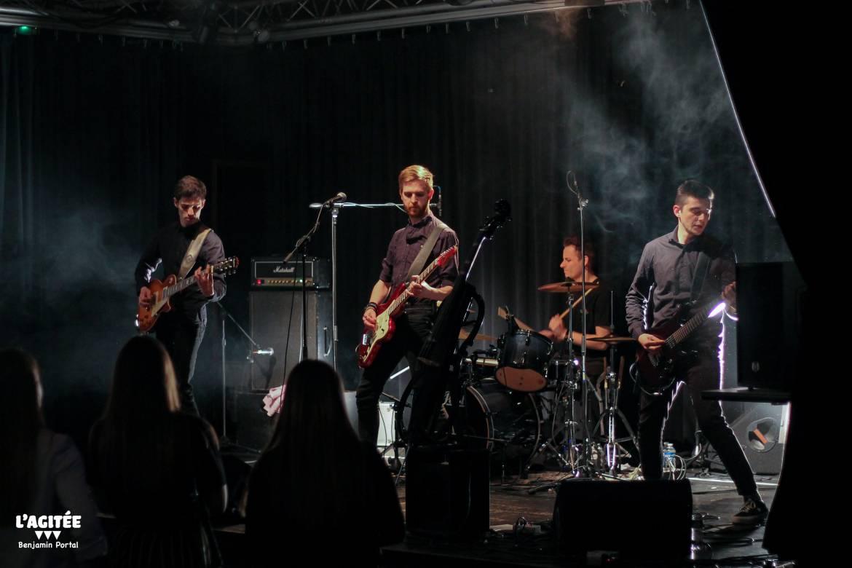 Concert rock étudiant MAC Chapou