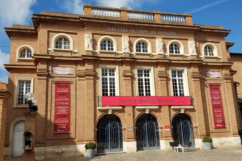 Theatre Olympe De Gouges À Montauban © Emilie Fuentes