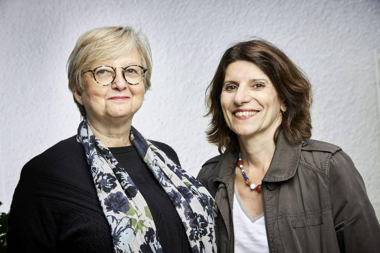 Catherine David Et Francoise Bouron © Bruno Levy