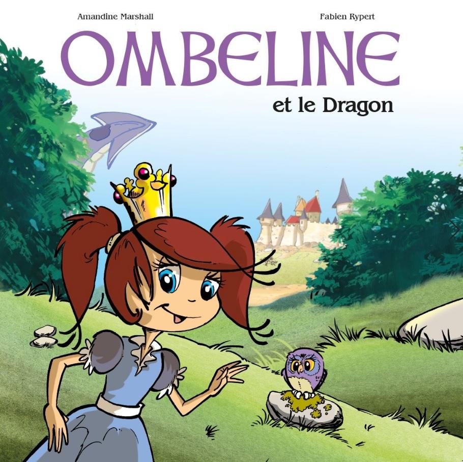 Couverture Ombeline Et Le Dragon