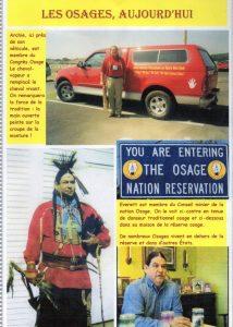 Les Osages Aujourd'hui