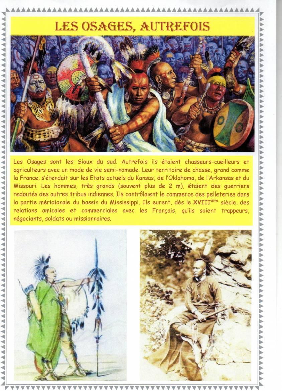 Les Osages autrefois