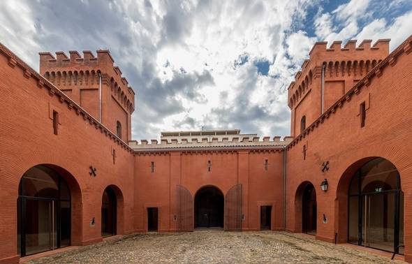 Cours Honneur Castelet Prison Saint Michel Toulouse