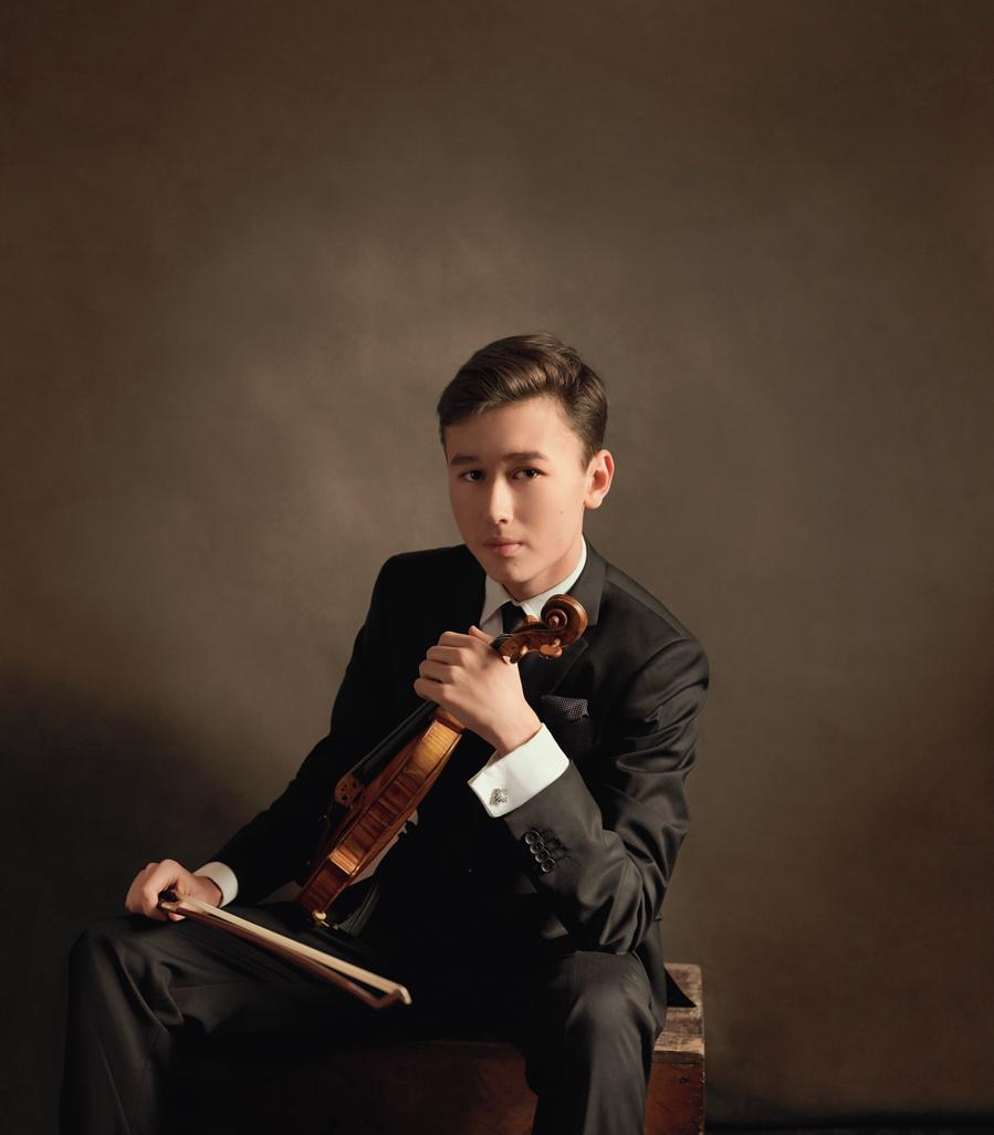 Daniel Lozakovich © Lev Efimov : Deutsche Grommophon