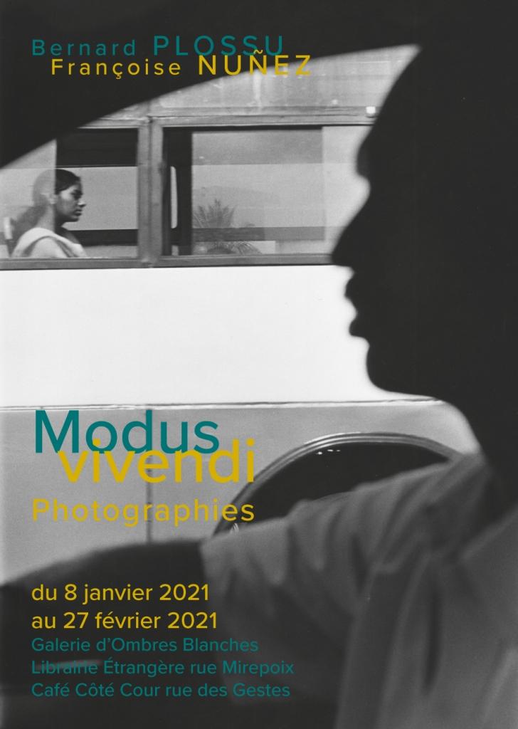 Affiche Modus Vivendi Toulouse janvier et février 2021