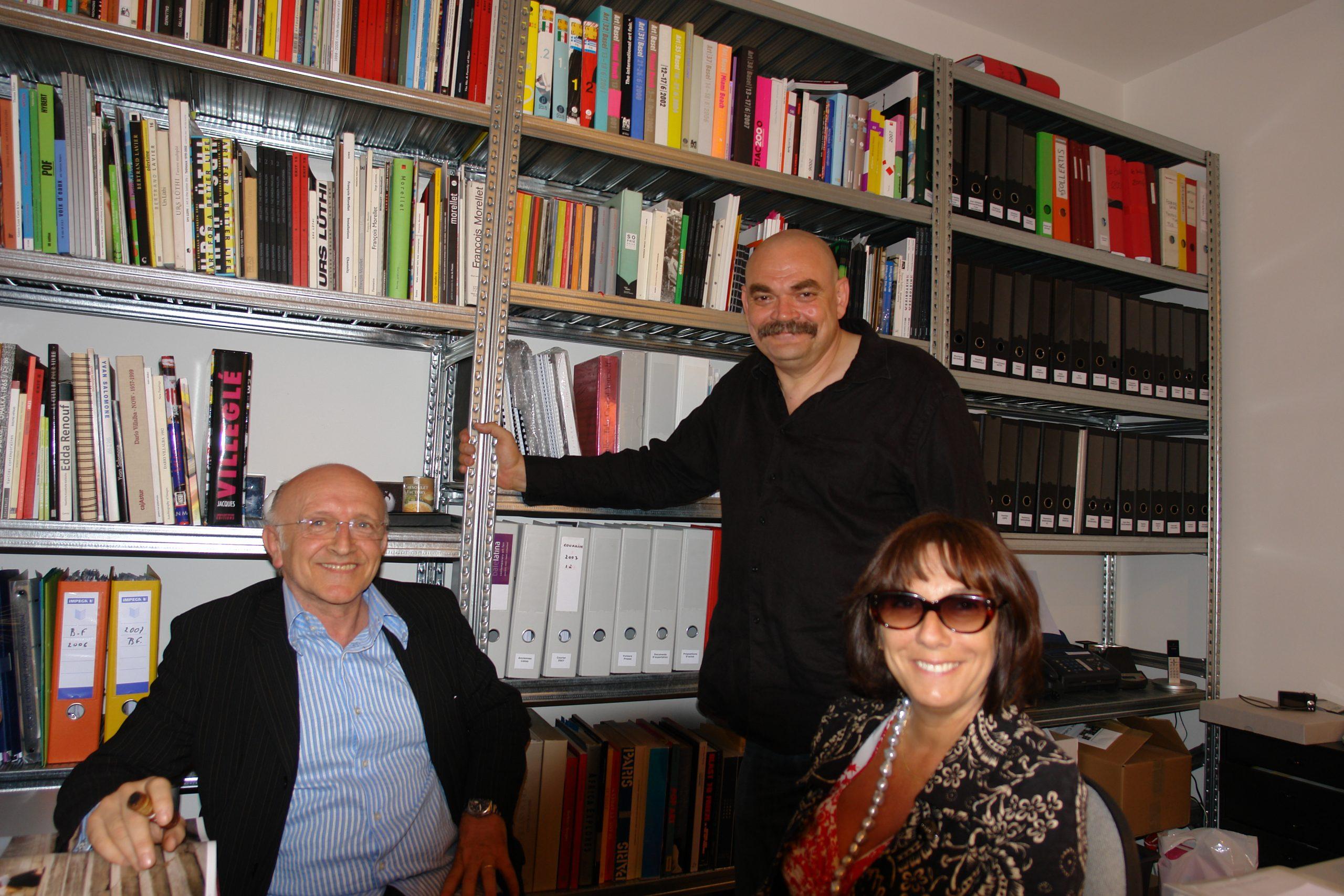Bertrand Lavier, Brice Fauché et Sophie Calle Chez Sollertis