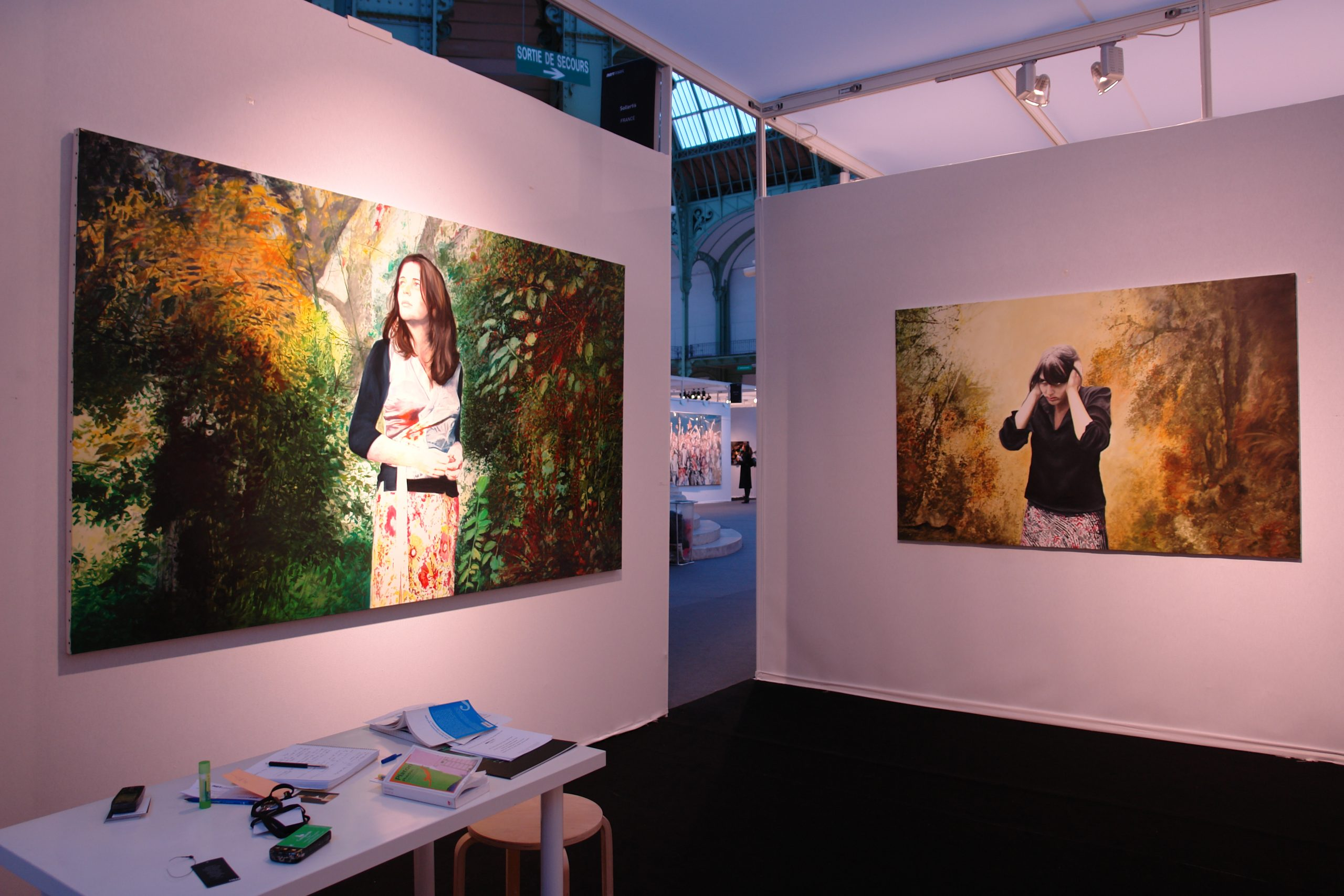 Stand à Art Paris - Alain Josseau et Le Jardin des supplices