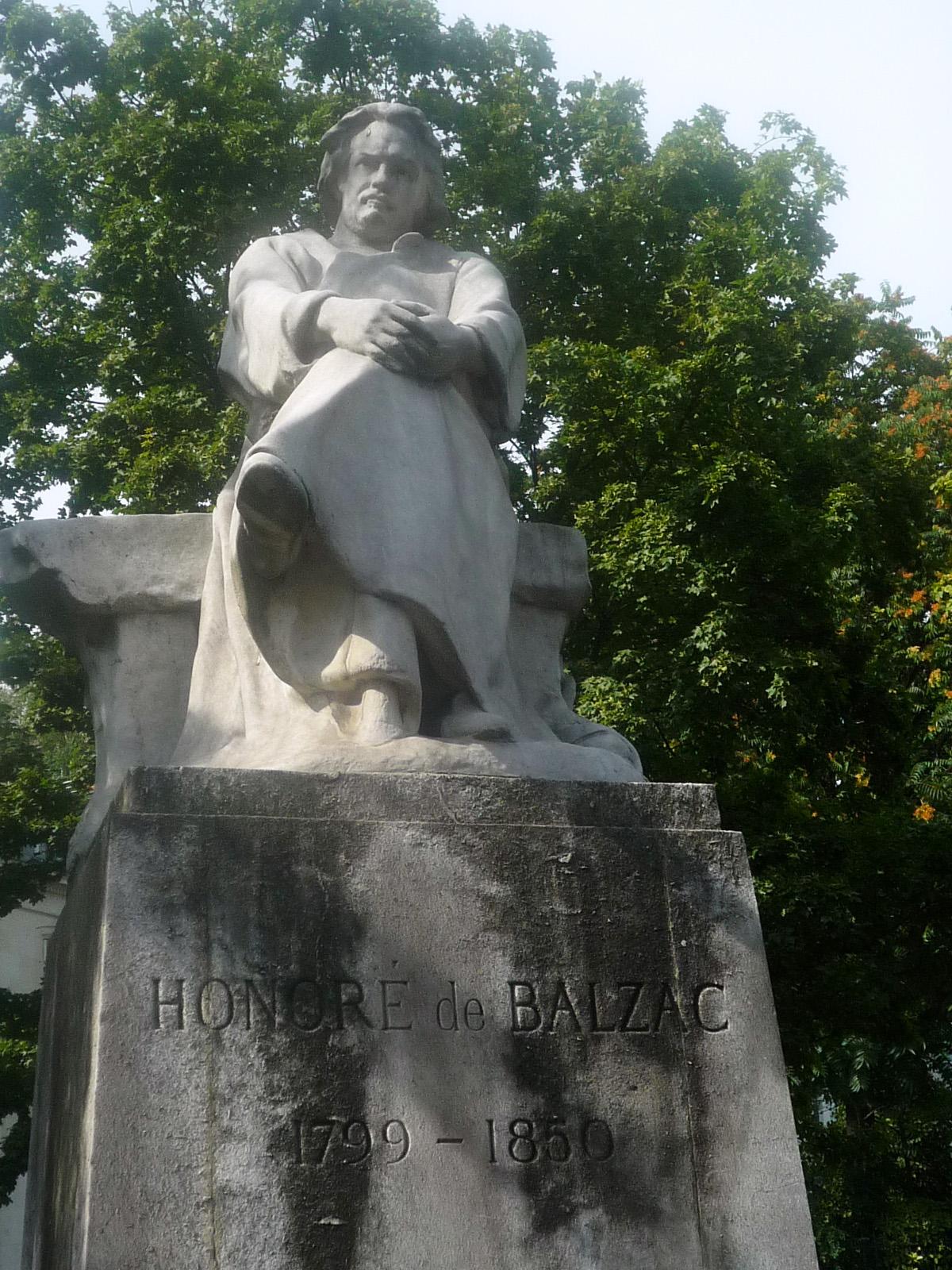 Balzac par Alexandre Falguière