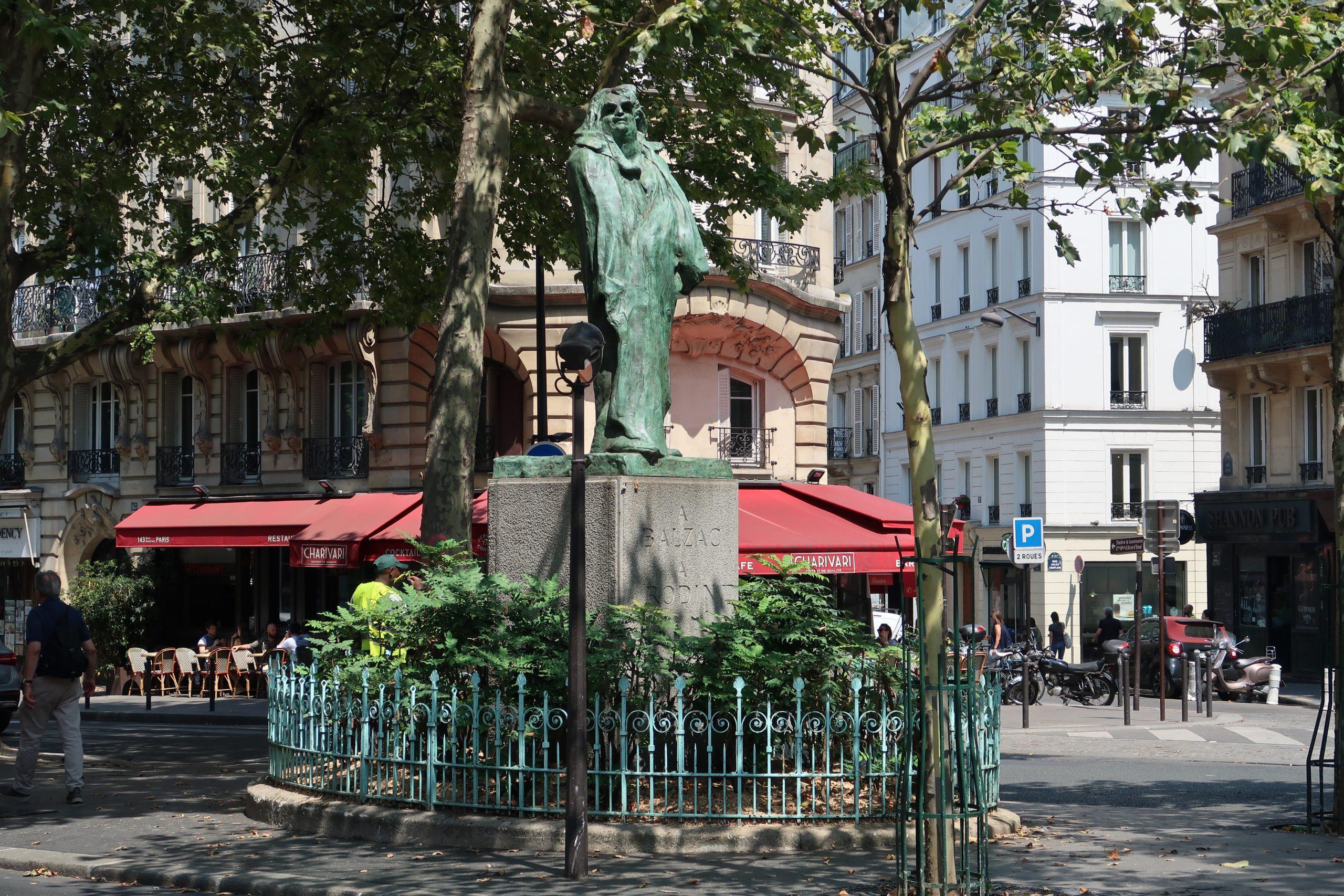 Balzac Par Rodin Photo Par Celette