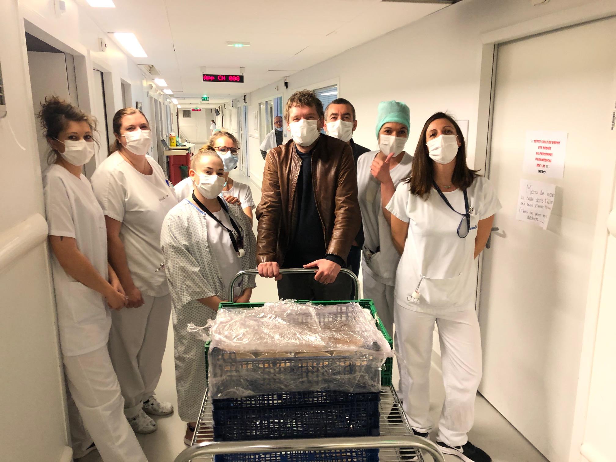 Belles Gamelles à l'Hôpital Rangueil