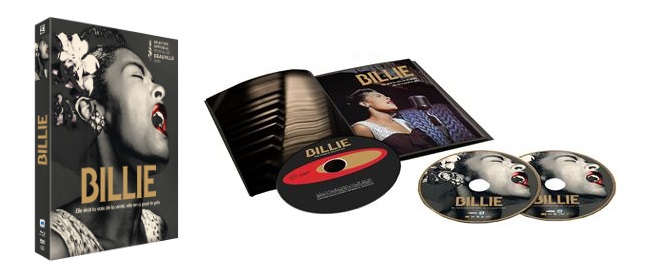 Billie Edition Prestige Combo Blu Ray DVD CD Livret