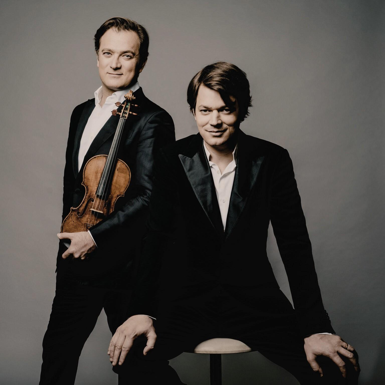 David Fray et Renaud Capuçon © Marco Borggreve